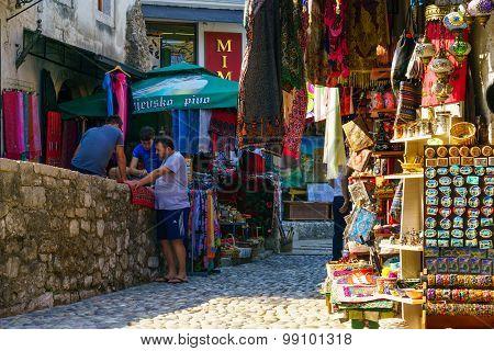 Street Scene, Mostar
