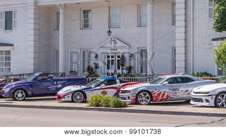 Team Penske Official Indy 500 Pace Cars, Woodward Dream Cruise, MI