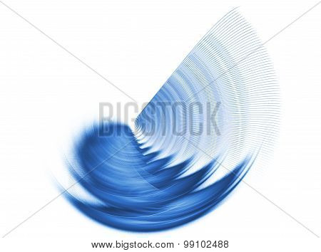 Abstract Textured Image Graphic Element For Design , Stroke , Rotating