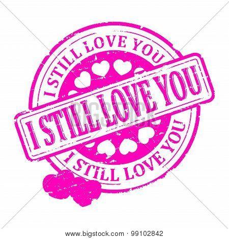 Red Stamp - I Still Love You