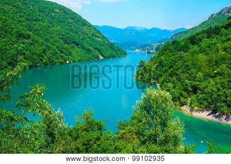 Jablanicko Lake, On The Neretva River
