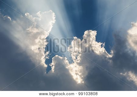 Sunbeam Out Of Clouds
