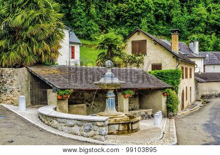 The French village of Borce.