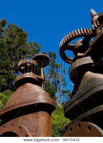 Old Pumping Mahinery, Closeup.