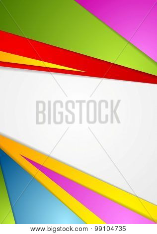 Colorful corporate background. Vector design