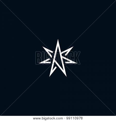 Abstract star symbol
