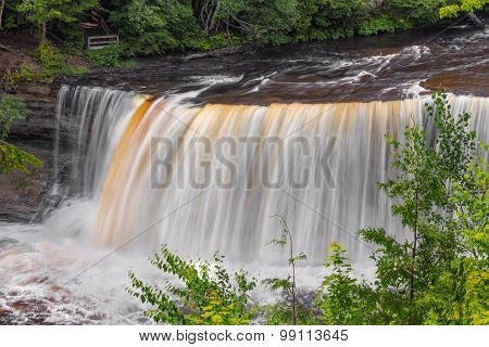 Upper Falls Of The Tahquamenon
