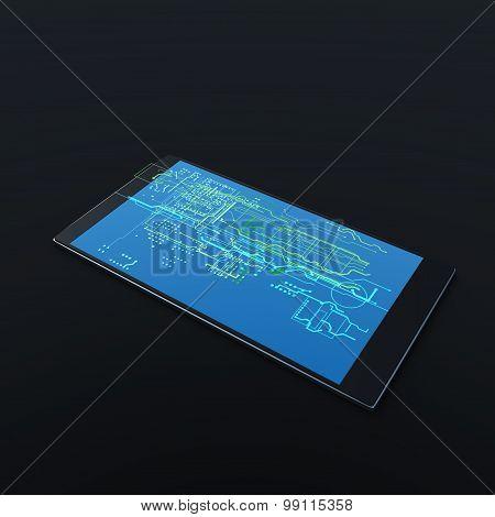 digital hologram mobile