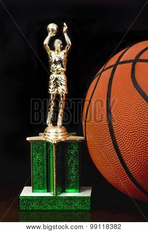 Basketball Trophy.