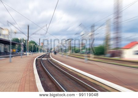 train station, a road is a trip