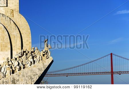 Padrao dos Descobrimentos (Monument to the Discoveries) is a monument on the northern bank of the Tagus River estuary in Lisbon