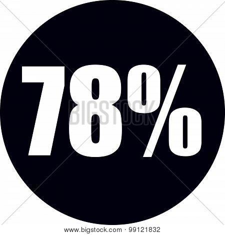 78 Percent Icon