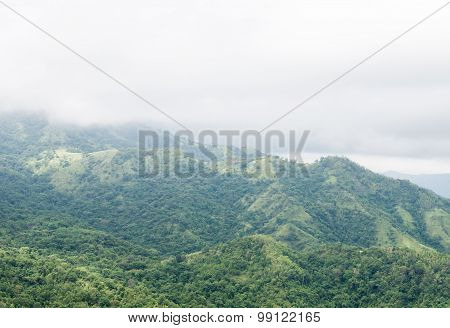 High green mountain