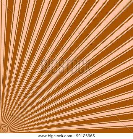 Windsor tan Color Stripe Funky Sun Rays Backgound