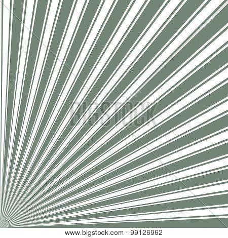 Xanadu Color Stripe Funky Sun Rays Backgound