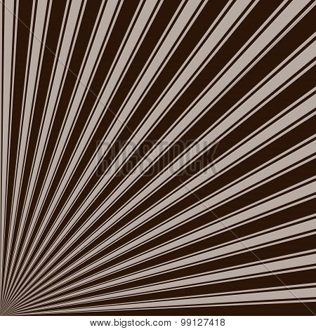 Zinnwaldite brown Color Stripe Funky Sun Rays Backgound