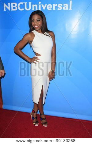 LOS ANGELES - AUG 13:  Bresha Webb at the NBCUniversal 2015 TCA Summer Press Tour at the Beverly Hilton Hotel on August 13, 2015 in Beverly Hills, CA