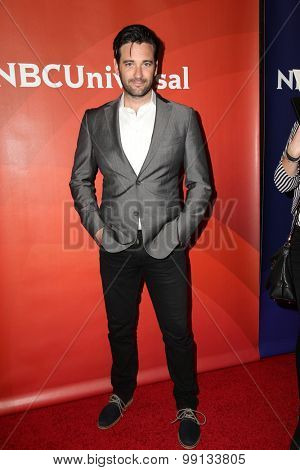 LOS ANGELES - AUG 13:  Colin Donnell at the NBCUniversal 2015 TCA Summer Press Tour at the Beverly Hilton Hotel on August 13, 2015 in Beverly Hills, CA
