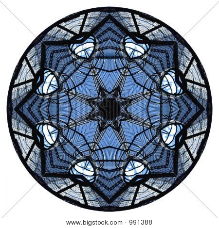 Stair Grid Kaleidoscope