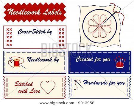 Needlework Labels