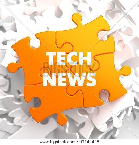 Tech News on Orange Puzzle.
