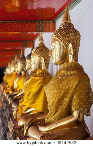 Golden Buddha, Wat Pho, Thailand