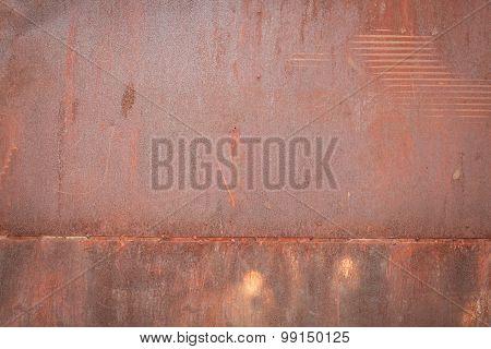 Rust Steel Background