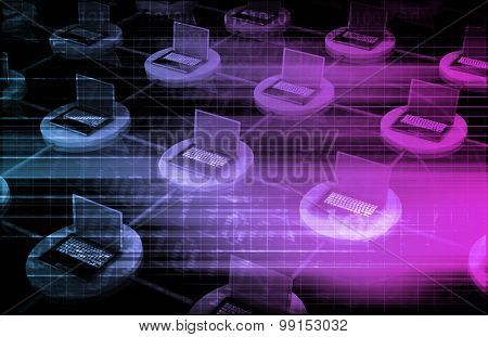 Network Security and Data Information Protection Art