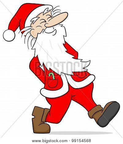 Santa Claus Takes A Walk