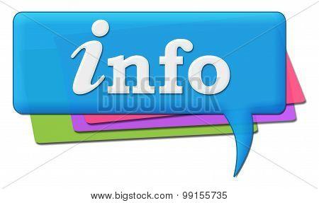 Info Colorful Comments Symbols