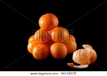 Several Tangerines