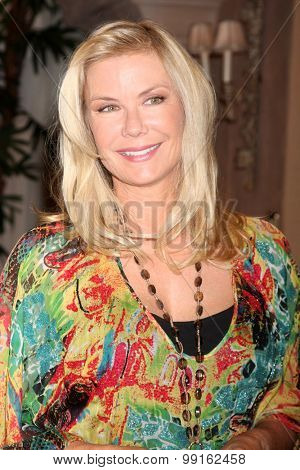 LOS ANGELES - AUG 14:  Katherine Kelly Lang at the Bold and Beautiful Fan Event Friday at the CBS Television City on August 14, 2015 in Los Angeles, CA