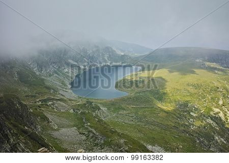 Fog Over the Kidney lake, The Seven Rila Lakes