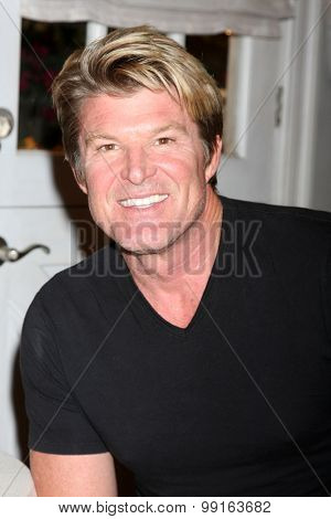 LOS ANGELES - AUG 14:  WInsor Harmon at the Bold and Beautiful Fan Event Friday at the CBS Television City on August 14, 2015 in Los Angeles, CA