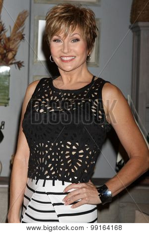 LOS ANGELES - AUG 14:  Schae Harrison at the Bold and Beautiful Fan Event Friday at the CBS Television City on August 14, 2015 in Los Angeles, CA