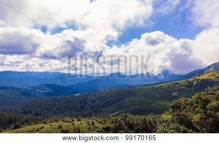 Montenegrin Ridge In Carpathians