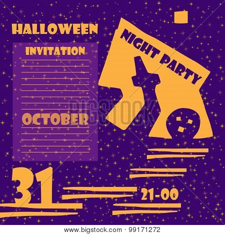 Invitation To A Halloween Party