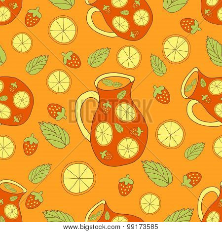 Fresh Sangria Pattern