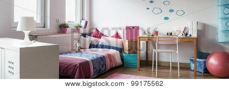 Modern Design Girl Room Interior