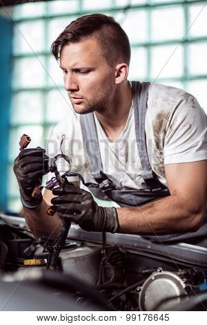 Automobile Repair Shop Worker