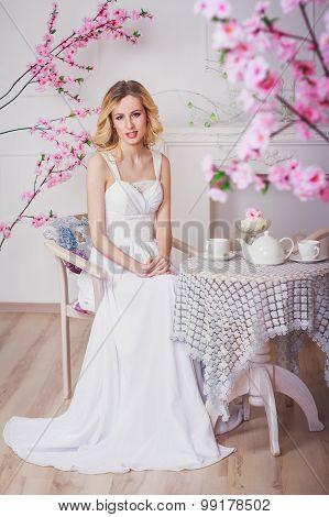 Blond Beautiful Bride