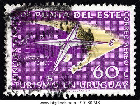 Postage Stamp Uruguay 1959 Punta Del Este