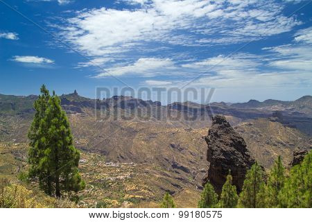 Gran Canaria, Route Cruz De Tejeda - Artenara