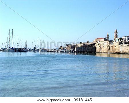 Akko Smooth Sea Near Port 2003