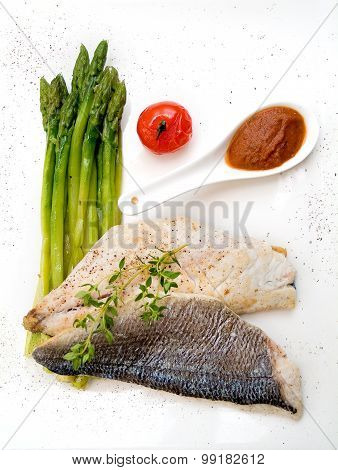 Fish With Asparagus