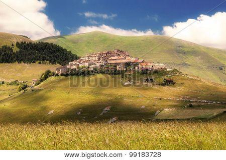 Castelluccio di Norcia (Umbria, Italy)