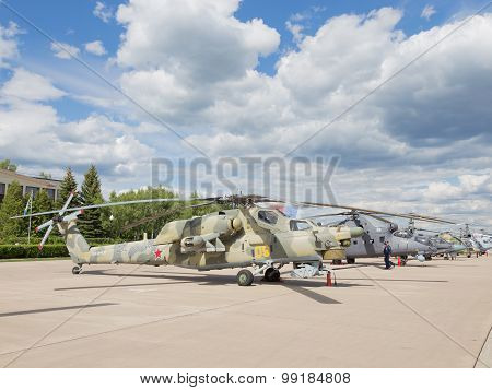 Military Helicopter Mi-28
