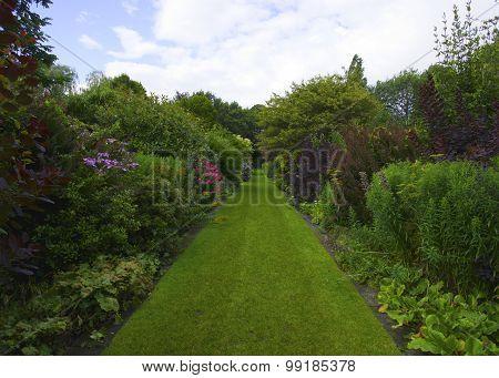 Ornamental Walkway