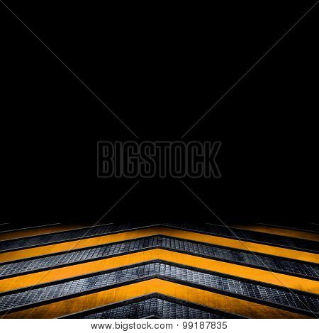 metal background with V pattern