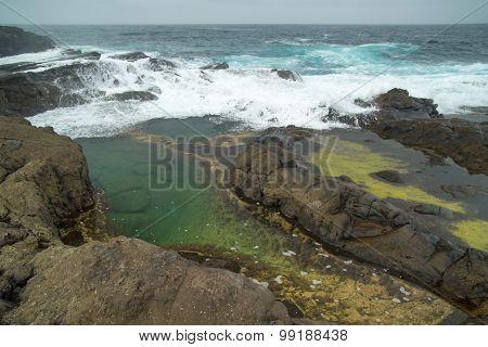 Gran Canaria, Banaderos Area, Rock Pools